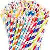 Paper straw 1x250pc