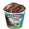 Ben and Jerry choc fudge brownie 464ml x8